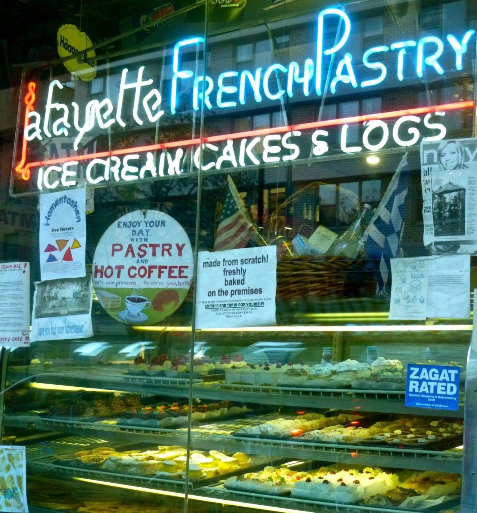 Lafayette French Pastry, Greenwich Village - made the best éclairs