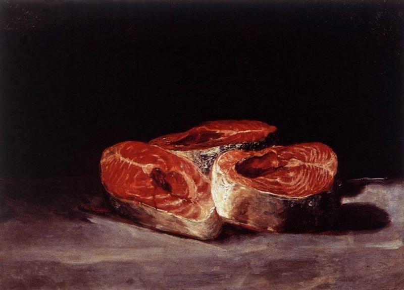 three-salmon-steaks-francisco-goya
