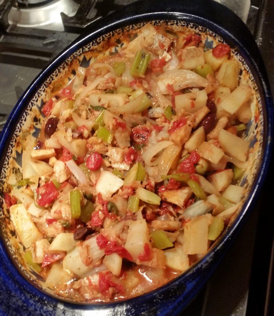 stewed baccala