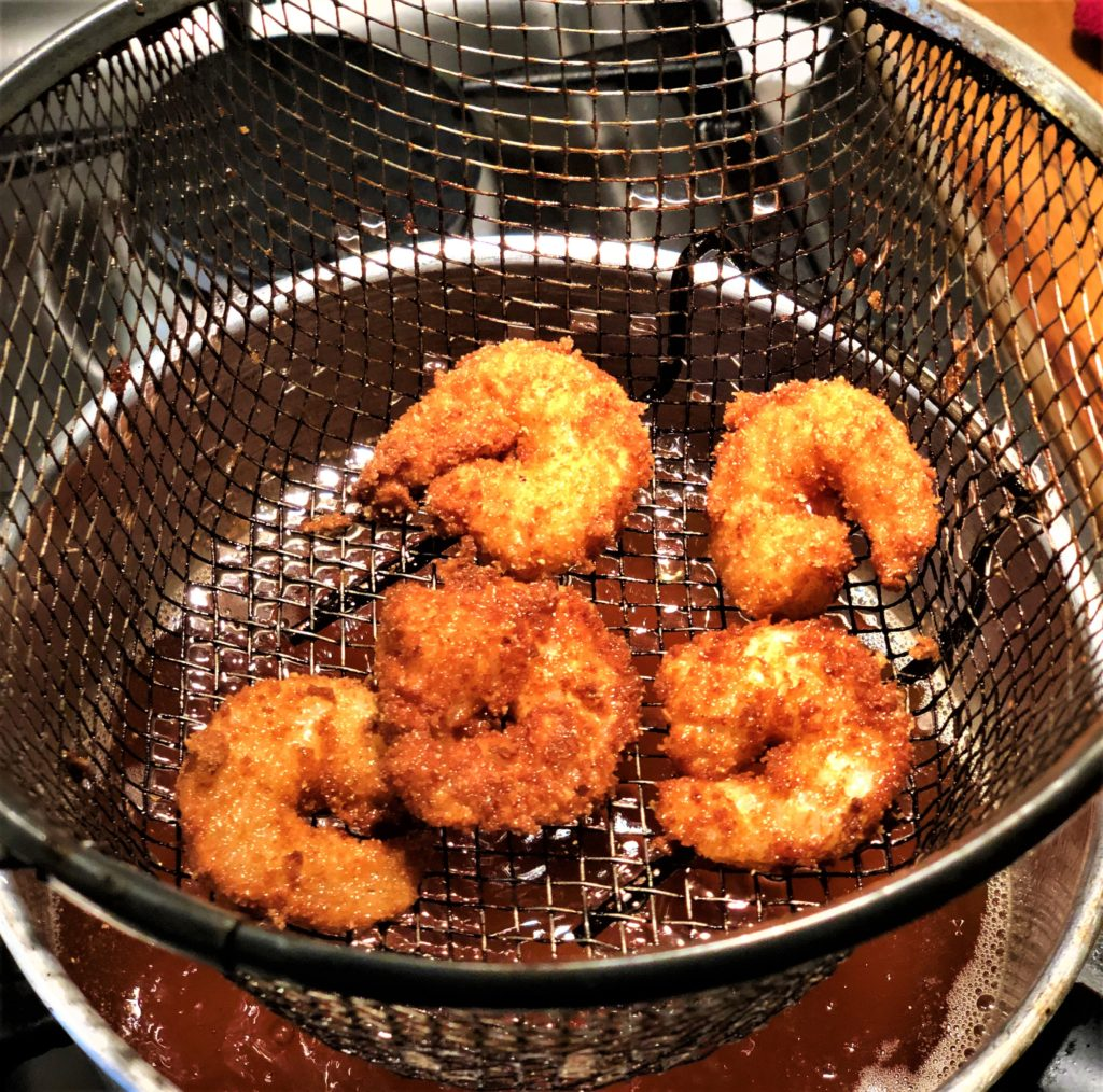 Micheles Breaded Deep Fried Gamberetto