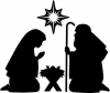 nativity-silhouettes