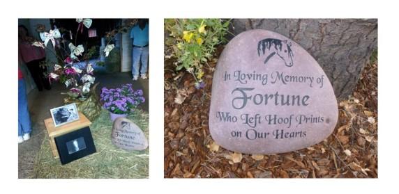 Fortune Memorial Grave Stone