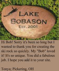 River Rock for Lake Bobason