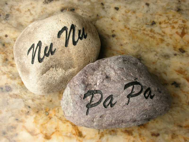 engraved signature rock memorial 1399341737
