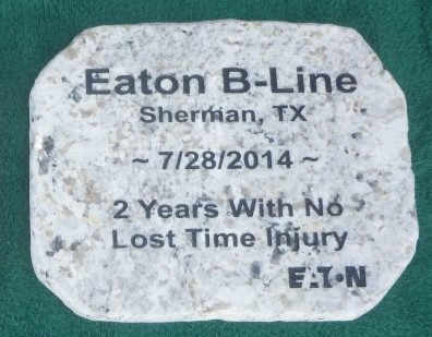 large engraved businesscorporate granite sto 1420933911