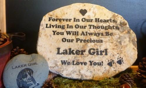 large engraved granite stone pet marker 1427132713