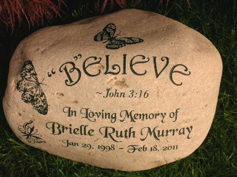 large engraved river rock bible quotes 1399344334