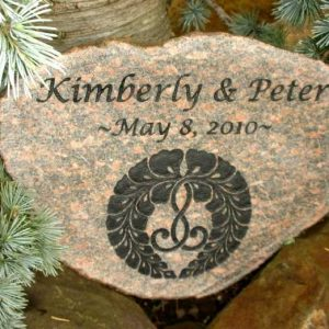 medium engraved garden stone 1399256816