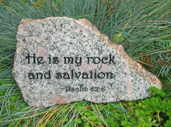 medium engraved granite stone bible quotes 1399344656
