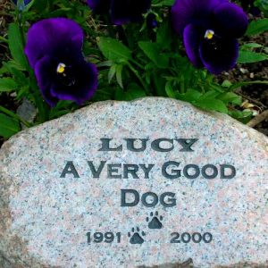 medium engraved granite stone pet marker 1399343123