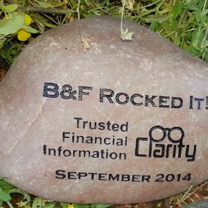 small engraved businesscorporate river rock 1420933515