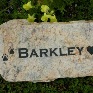 small engraved granite stone pet marker 1399343197