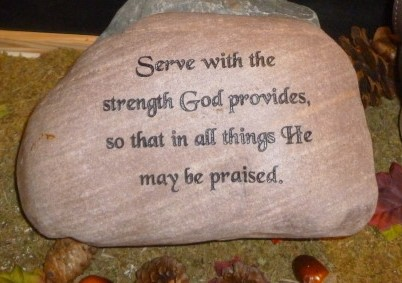 small engraved river rock bible quote 1420586206