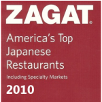 ZAGAT 2010 Award for Japanese Palace