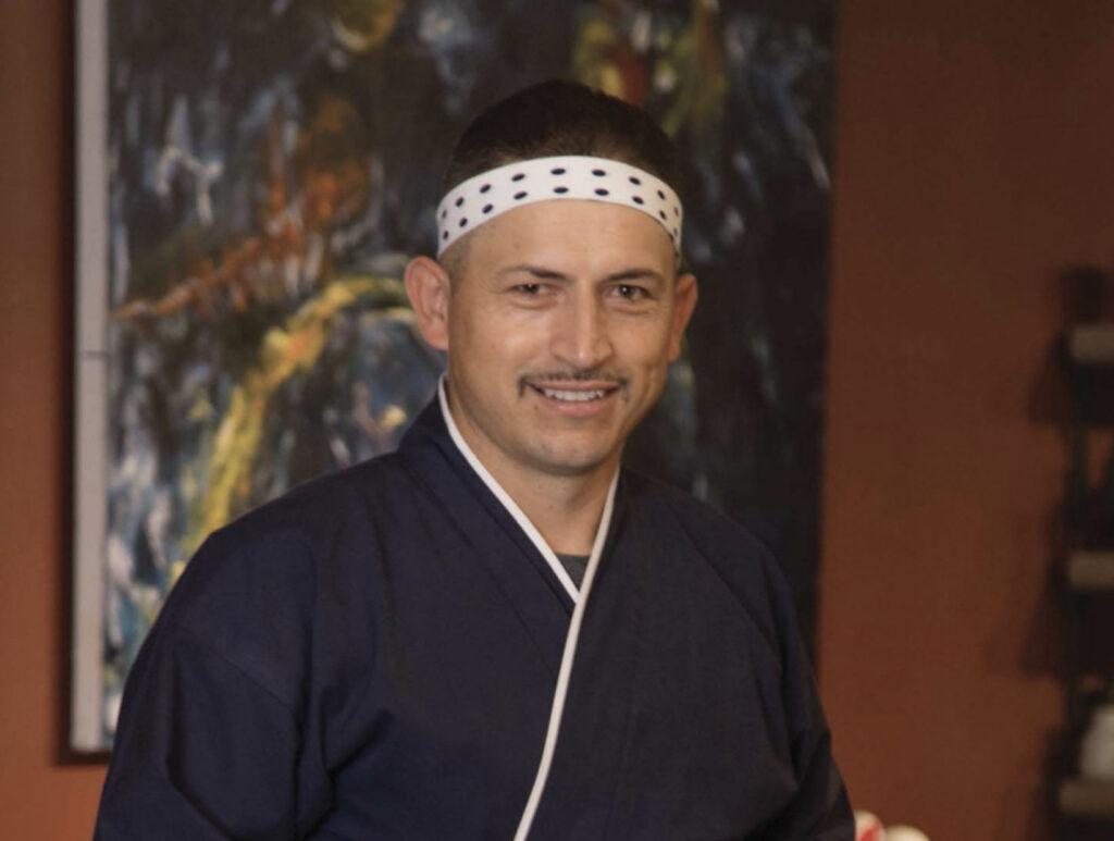 Olivero Duran (Bob-san) at Japanese Palace