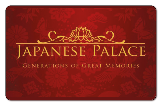Japanese Palace GIft Card