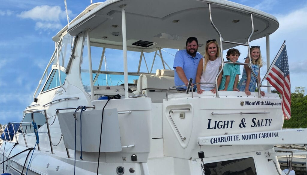 Our new boat Light & Salty