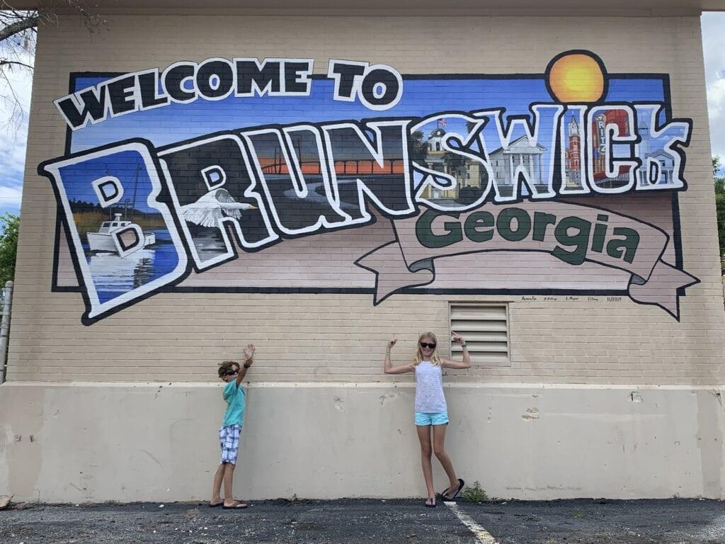 Life in charming, small town, Brunswick GA