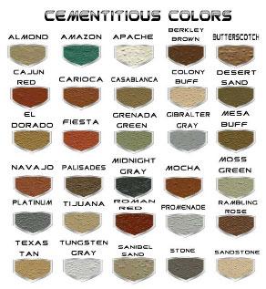 Cement Colors