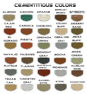 Cement Colors