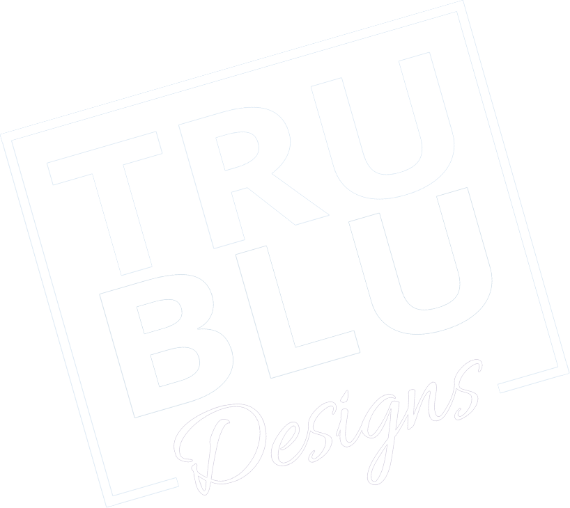 TruBlu Designs Logo Faded