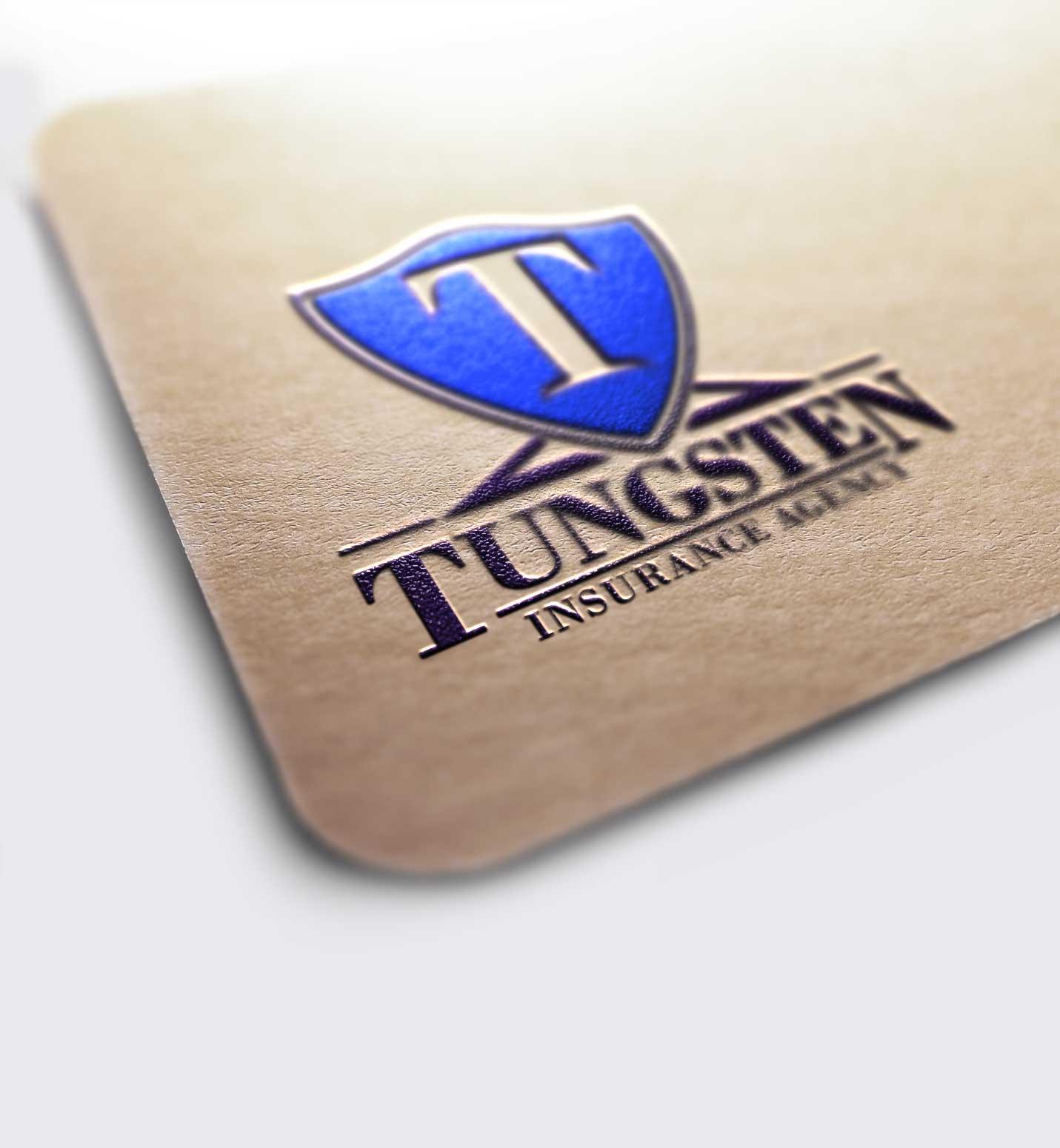 Case Study: Tungsten Insurance Agency Logo Design