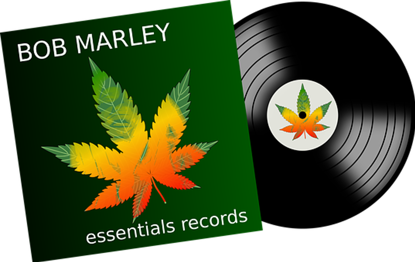 Vinyl, Music, Bob Marley, Sound, Record
