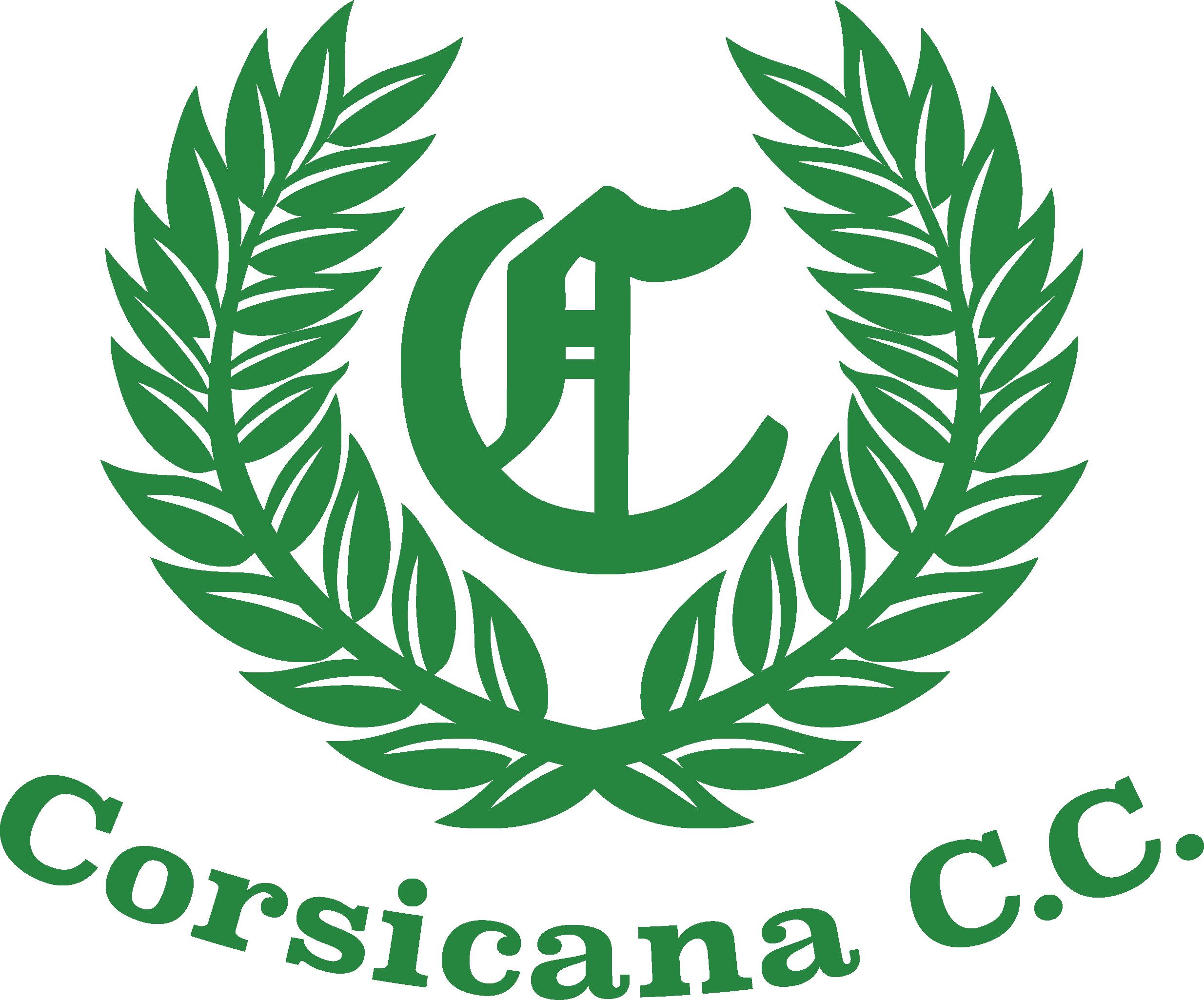 Corsicana Country Club Logo Green