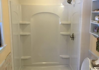 BATHROOM REMODEL: TUB TO SHOWER CONVERSION