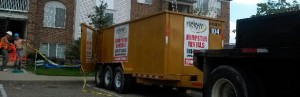 Michigan Dumpster Rental, Rubber Wheel Dumpsters, Clean Up Services
