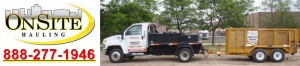 Michigan Dumpster Rental, Rubber Wheel Dumpsters, Onsite Hauling Logo