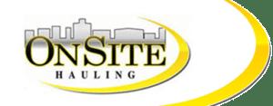 Onsite Hauling web logo