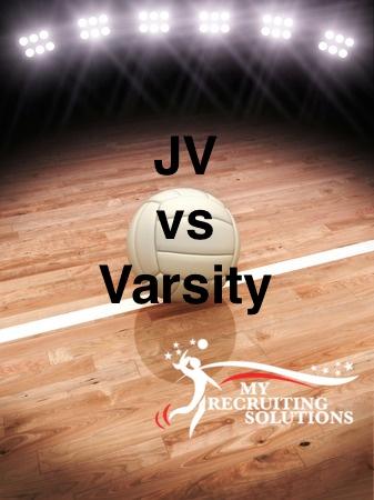 JV vs Varsity Volleyball @myrecruitingsolutions
