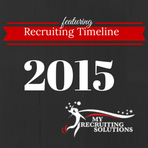 Recruiting Timeline @MyRecruitingSolutions