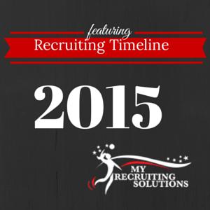 Recruiting Timeline @MyRecruitingSolutions
