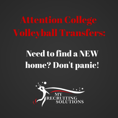 College Volleyball transfers @MyRecruitingSolutions