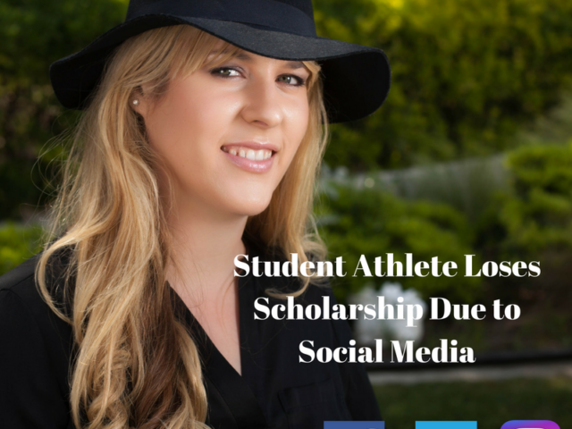 Student athlete loses scholarship due to social media