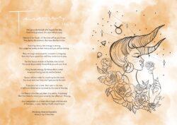Taurus Goddess Card