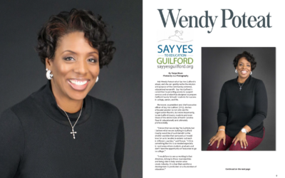 Say Yes Guilford CEO Wendy Poteat Featured in Huami Magazine