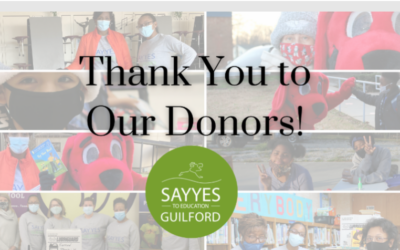 Thank You to Our Donors