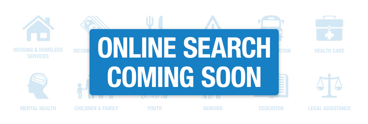 Online Search Coming Soon