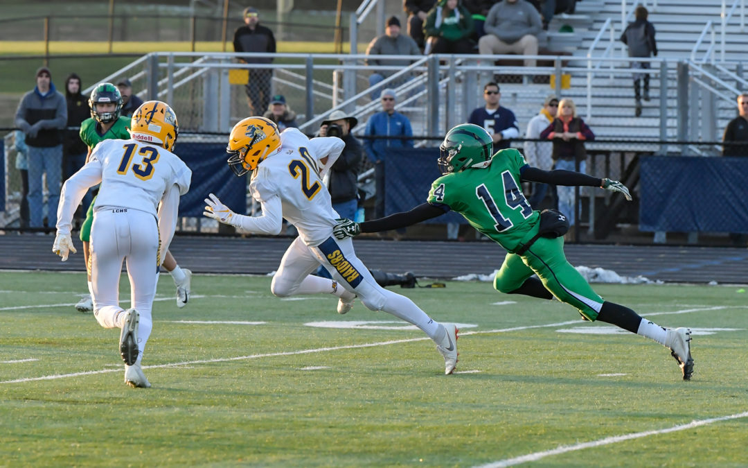 Ground game pushes Wolverines past Raiders and into region final