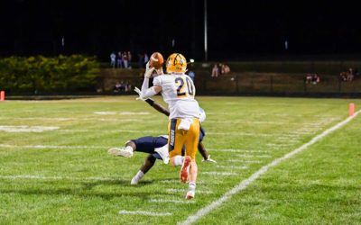 Kibble stars as receiver, kicker to lead Loudoun County past Millbrook