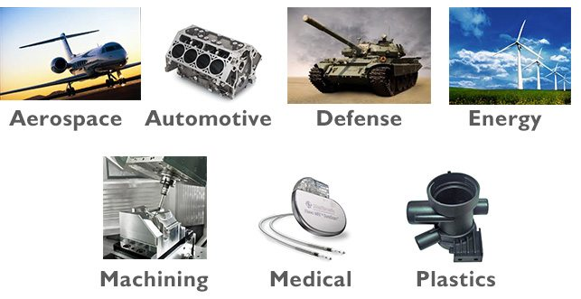 Industries - Dimensional Inspection Services