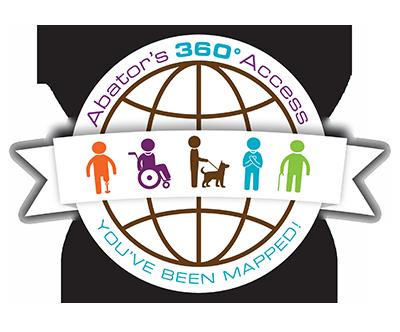 Abator 360-Access Map Logo