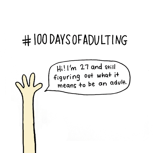 100 Days of Adulting