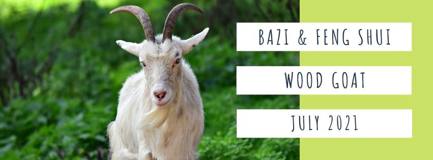 July 2021 Yin Wood Goat Feng Shui & BaZi Update
