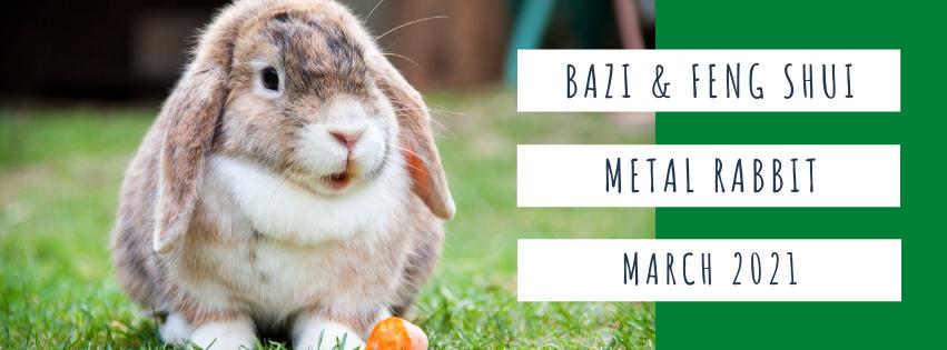 March 2021 Yin Metal Rabbit Feng Shui & BaZi Update