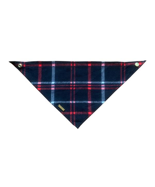 Pañoleta Escocés Negro y Rojo - Feroz