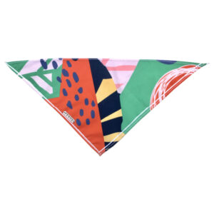 Orange Abstract City Bandana - Feroz